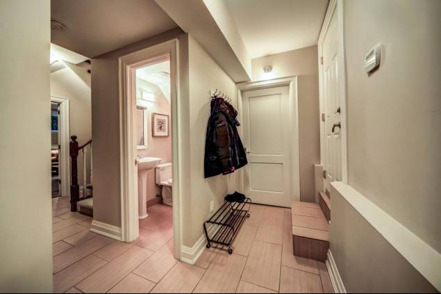 Basement Mud Room